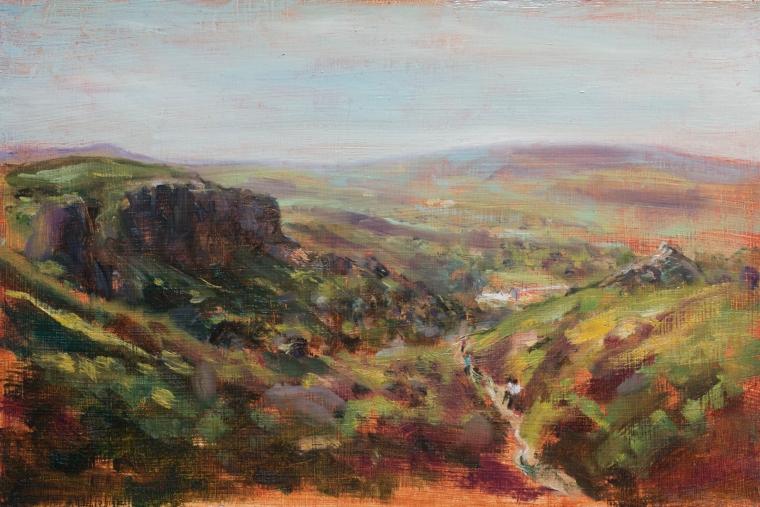 Ilkley Moor sketch - Rachel Hinds